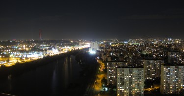 Kiev at night