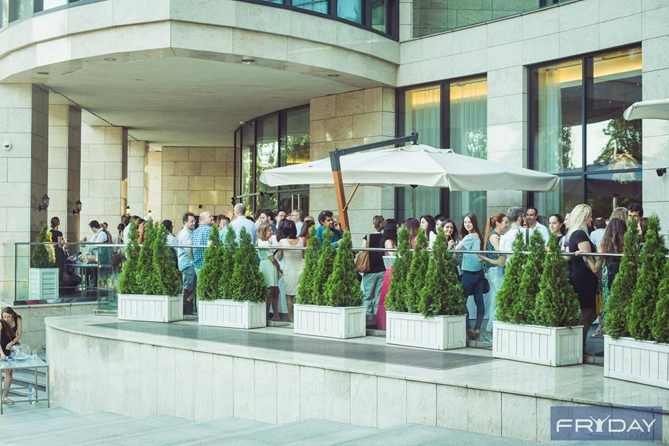 Fryday Afterwork at H Terrace, Hilton Kyiv. August 25