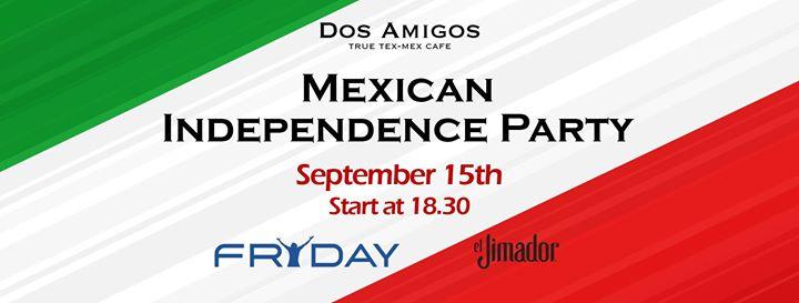 Fryday Afterwork at Dos Amigos. September 15