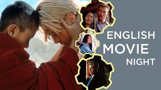 English Movie Night: Seven Years in Tibet. September 22