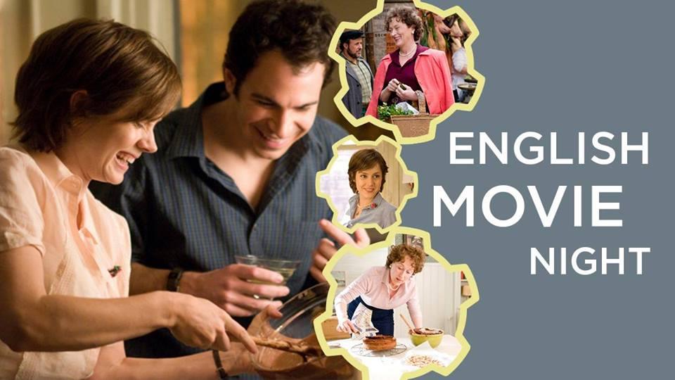 English Movie Night: Julie & Julia. November 3