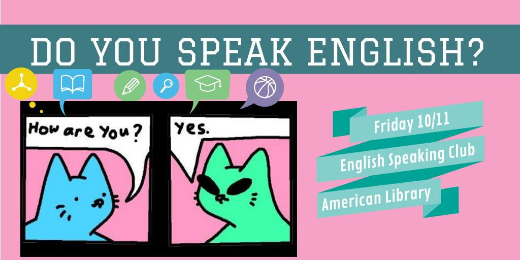 English Speaking Club – November, 10