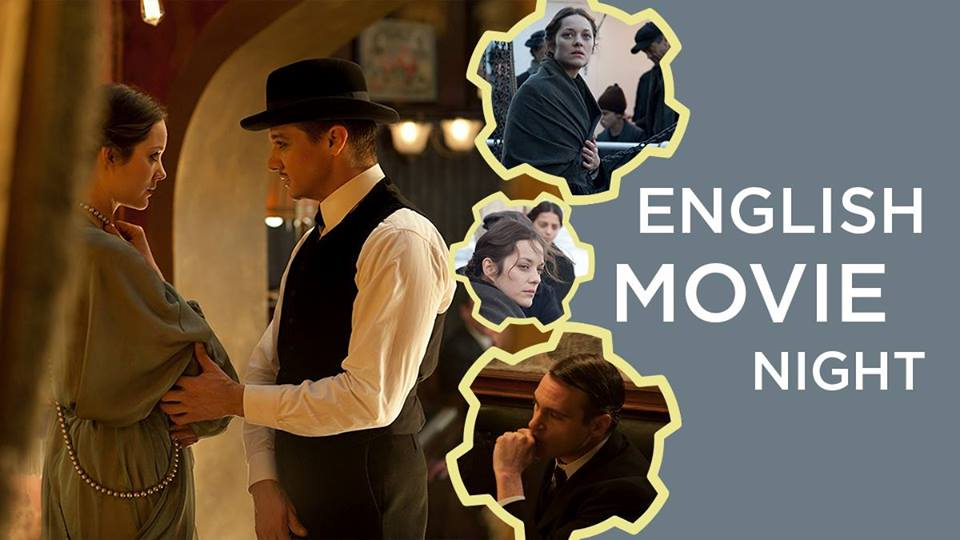 English Movie Night: The Immigrant. December 29