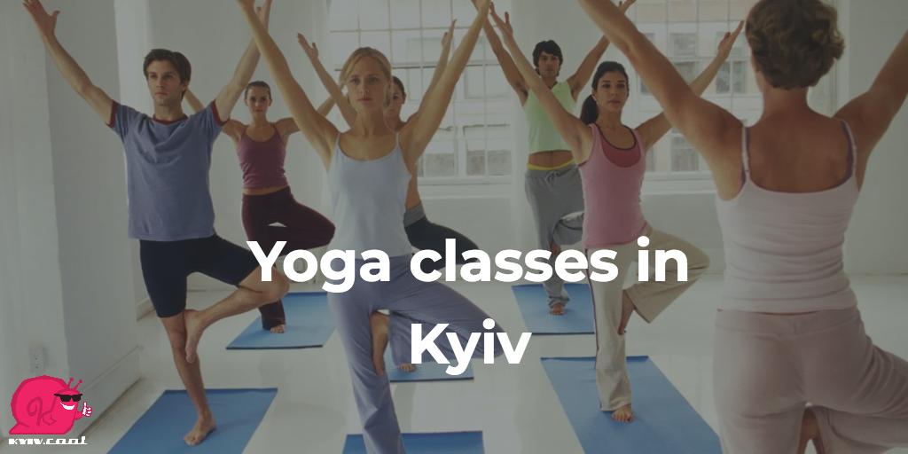 Yoga classes in Kyiv