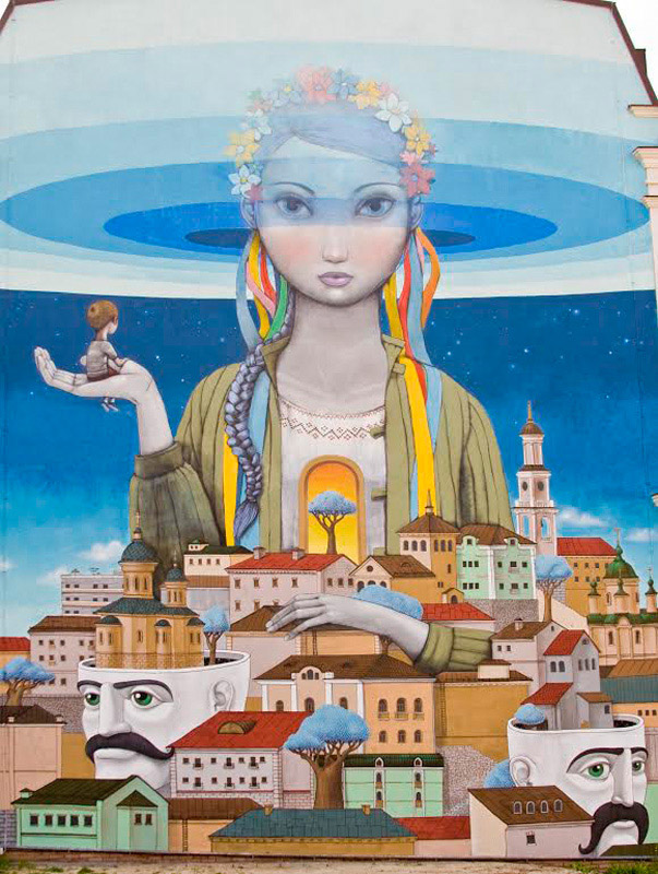 Murals of Kyiv