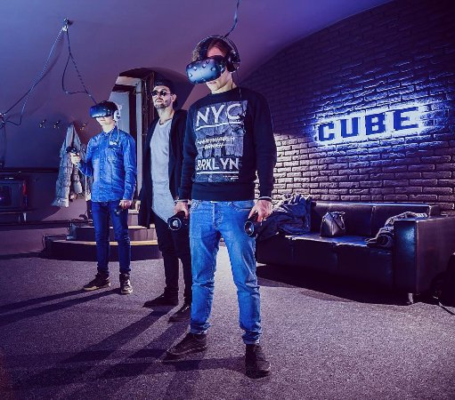 CUBE. Virtual reality